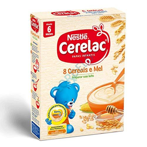 Zubereitung für Milchbrei mit 8 Getreidesorten und Honig, Hekunftsland Portugal, 250g - Cerelac 8 Cereais e Mel Nestlé Nestlé Portugal S.A.