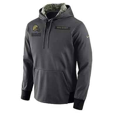 37cbe755 Amazon.com: Nike Men's Cleveland Browns Salute to Service Fleece ...