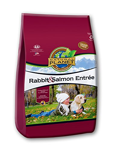 Natural Planet Organics Rabbit & Salmon Entree Dry Dog Food 15 lb