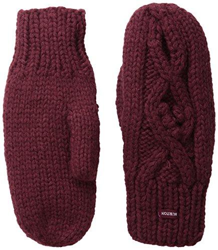 Burton Women's Chloe Mittens, Sangria, One Size