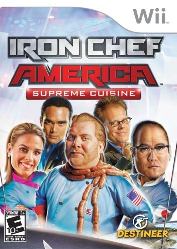 Iron Chef America/Supreme Cuisine - Nintendo Wii by Destineer Nintendo Wii Iron