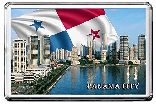 PANAMA CITY FRIDGE MAGNET 004 THE CAPITAL CITY OF PANAMA REFRIGERATOR MAGNET