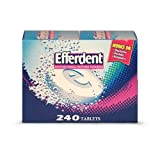 Efferdent Denture Cleanser - 240 Tablets (Pack of 3)