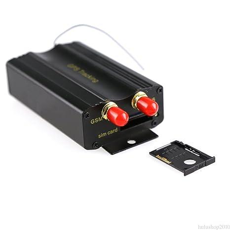 Mengonee Vehículo Car GPS Tracker TK103B con control remoto GSM de alarma de la ranura para tarjeta SD Anti-robo en tiempo real Moniting Tracker
