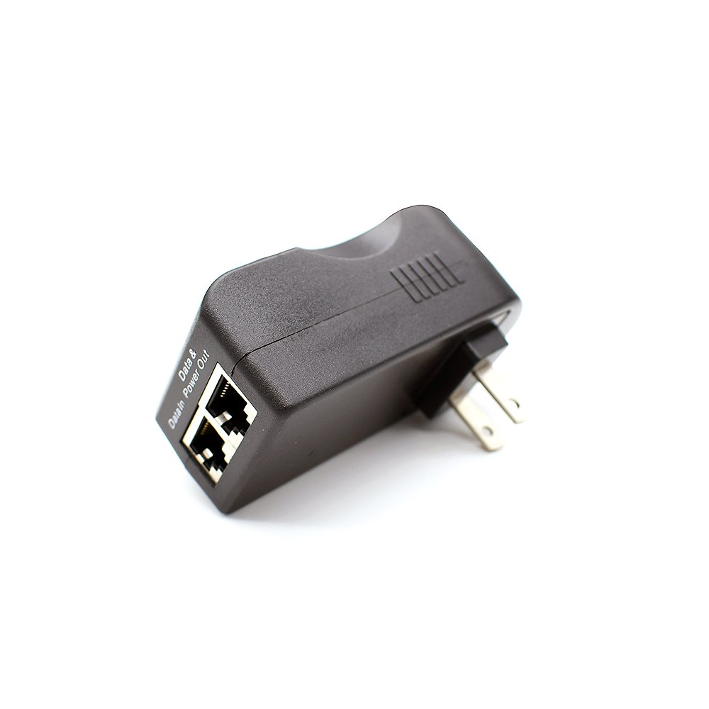 iCreatin 48V19W Wall plug Gigabit Power over Ethernet POE Injector Power supply,1000Mbps IEEE 802.3af Compliant, Up to 100 Meters (328 Feet) by iCreatin (Image #3)