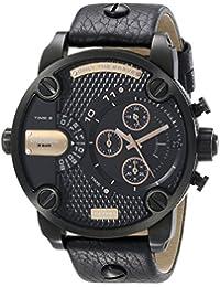 Men's DZ7291 Little Daddy Analog Display Analog Quartz Black Watch