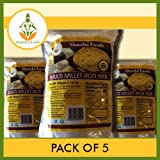 SHASTHA MULTI-MILLET ROTI MIX (PACK OF 5) EACH PKT 500 GMS