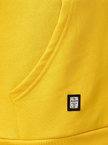 Capuche Décontracté Redbridge shirt Jaune Base À De Hommes Coton Sweat Pull wFaSq1H