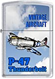US Army P-47 Thunderbolt WWII Vintage Military Aircraft Zippo Lighter