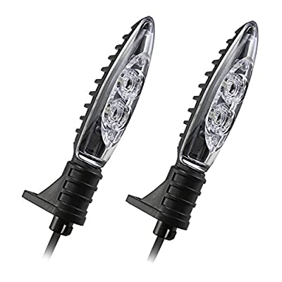 Front or Rear Turn Indicator Signal Light LED For BMW F800r F800gs F650gs F800st F800s K1200r K1200r Sport Hp2 Sport R1200r R1200gs R1200gs Adventure Motorcycle Led Indicators (1 Pair): Automotive