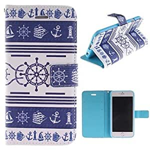 LZX Retro Design PU Leather Full Body Cover with Stand and Money Holder for iPhone 6