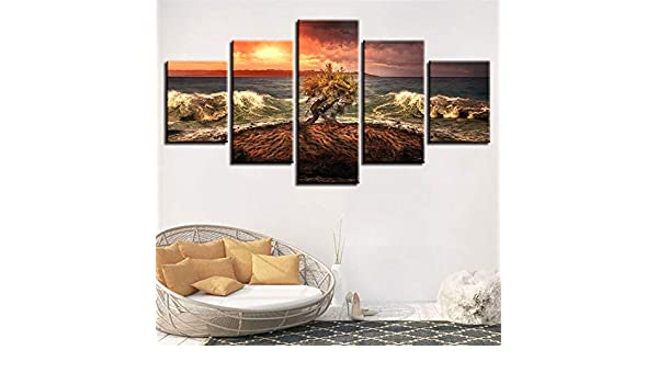 Pintura Decorativa, Combinación de Chorro de Tinta Playa Roca ...