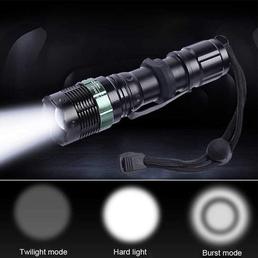 ZUHN Mini Linterna LED portátil Interruptor de botón de Brillo ...