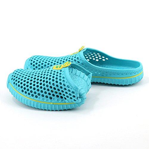 Aleader Performance - Zuecos de goma eva para mujer azul claro