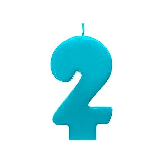 HausderHerzen Número Vela Vela para la Tarta de Cumpleaños ...