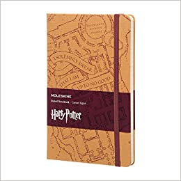 Moleskine LE Harry Potter Notitieboek Large 13x21 cm Gelinieerd ...