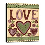Love I Framed Print 45.00''x33.65'' by Debbie McMaster