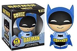Funko Dorbz: Batman 75th Colorways Action Figure, Blue