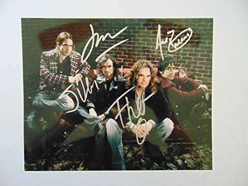 """Sueños Líquidos"" Maná Group Signed 10X8 Color Photo Todd Mueller COA from Unknown"