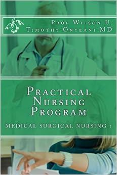 Book Practical Nursing Program: Medical SURGICAL NURSING 1