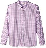 Dockers Men's Long-Sleeve Comfort Stretch Plaid Button-Front Shirt
