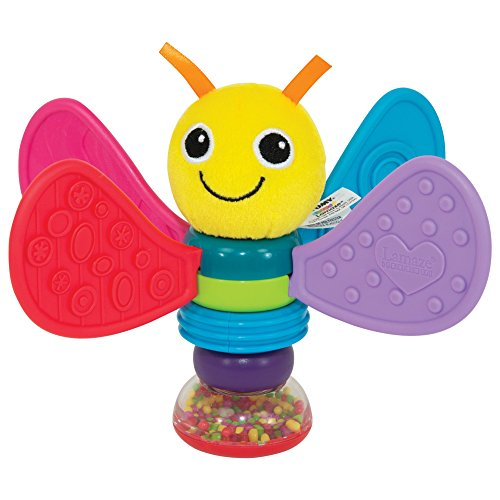 TOMY: Lamaze Freddie The FireFly Rattle / Teether, Infant To