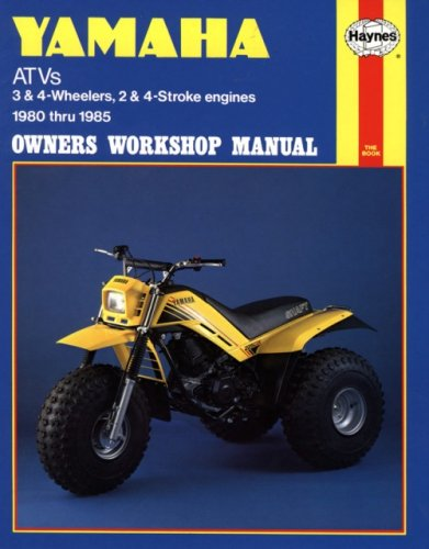 Yamaha ATV's '80'85 (Owners' Workshop Manual)