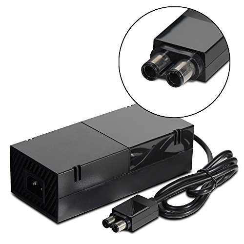 Fosmon AC Adapter Power Supply Cord For Microsoft Xbox ONE