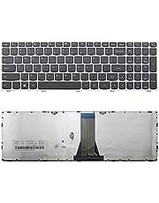 New Laptop keyboard with silver frame for Lenovo Z50-70 Z50-75 Z70-80, US layout black color