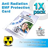 Anti Radiation EMF Protection Card for Mobile Phones and Network Devices | Gray ZONE030 Smart Card by IIREC (Gray, 1 Pack)