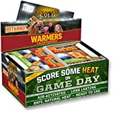 Game Day Hand & Toe Warmers - Long Lasting Safe Natural Odorless Air Activated Warmers - 24 Pair OF Hand Warmers & 8 Pair Of Toe Warmers