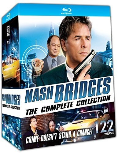 Blu-ray : Nash Bridges: The Complete Collection (Boxed Set, 16PC)