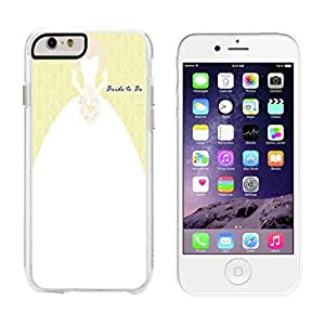 Bride To Be Wht - iPhone 6 Clear Cover Case