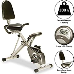 The Exerpeutic 400XL recumbent bike is engineered with a 3-piece high-torque crank system that provides a smooth, consistent pedaling motion. A cushioned seat is designed to accommodate a variety of users, and the larger footplate prevents sl...