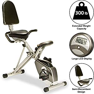 Well-Being-Matters 51IGjpgYkKL._SS300_ Exerpeutic 400XL Folding Recumbent Bike with Performance Monitor