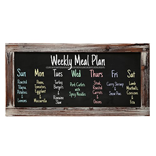 Rustic Erasable Blackboard Message Restaurant