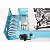 MAX Outdoor Camping Portable Double Burner Gas