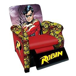 Warner Brothers Robin Classic Animated Hero Kids Recliner