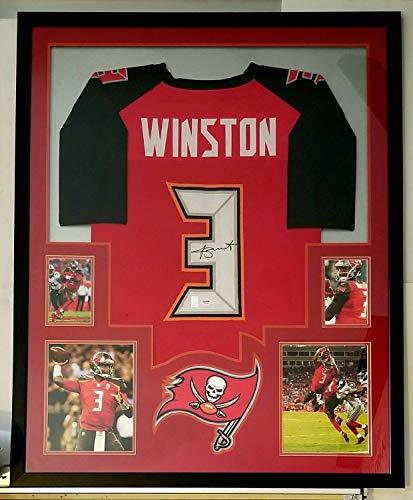 Jameis Winston Tampa Bay Buccaneers Memorabilia. Jameis Winston Autographed  Signed Jersey Framed Tampa Bay Buccaneers Memorabilia PSA DNA 1f9226da1