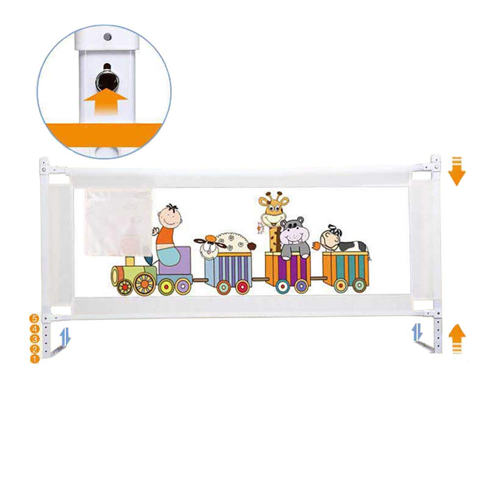 ベッドフェンス- 幼児用ベビーベッド、1.5m / 1.8m / 2.0m(1面)用のクイーン&キングサイズベッド、エクストラロング幼児安全ベッドレールのための幼児ベッドガード (サイズ さいず : 200cm) 200cm  B07JKCQF2X