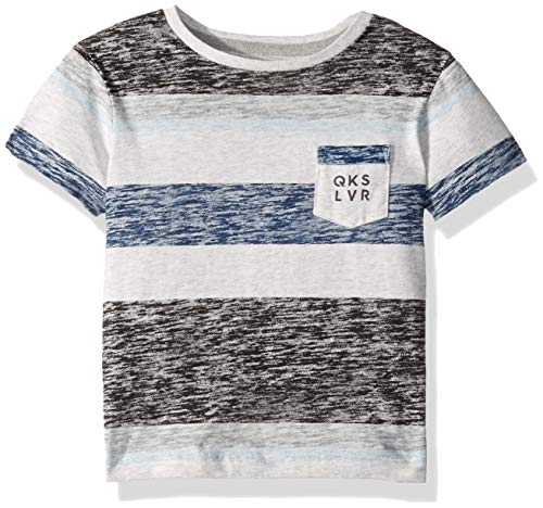 (Quiksilver Little Reverse BOY Knit Crew, Tarmac, 4)