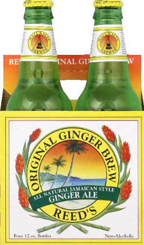 Reed'S Ginger Ale Original Ginger Brew Soda, 12 Ounce (24 Glass ()