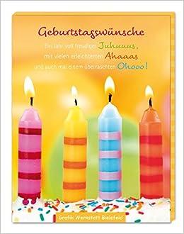 Gute Wünsche Box Geburtstagswünsche 4043651591028 Amazoncom Books