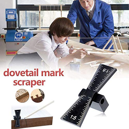 Junshion Aluminum Woodworking Dovetail Marker Marking, used for sale  Delivered anywhere in USA