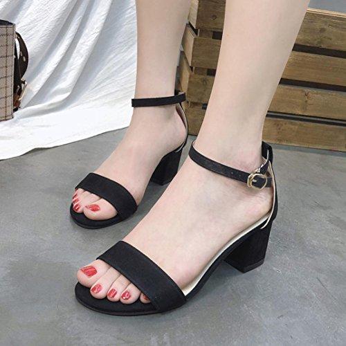 Sandalen Schuhe Weave Middle NEEDRA Mode Wedges Frauen A3 amp;H Heel Böhmen S Sommer Sandalen 70q1x