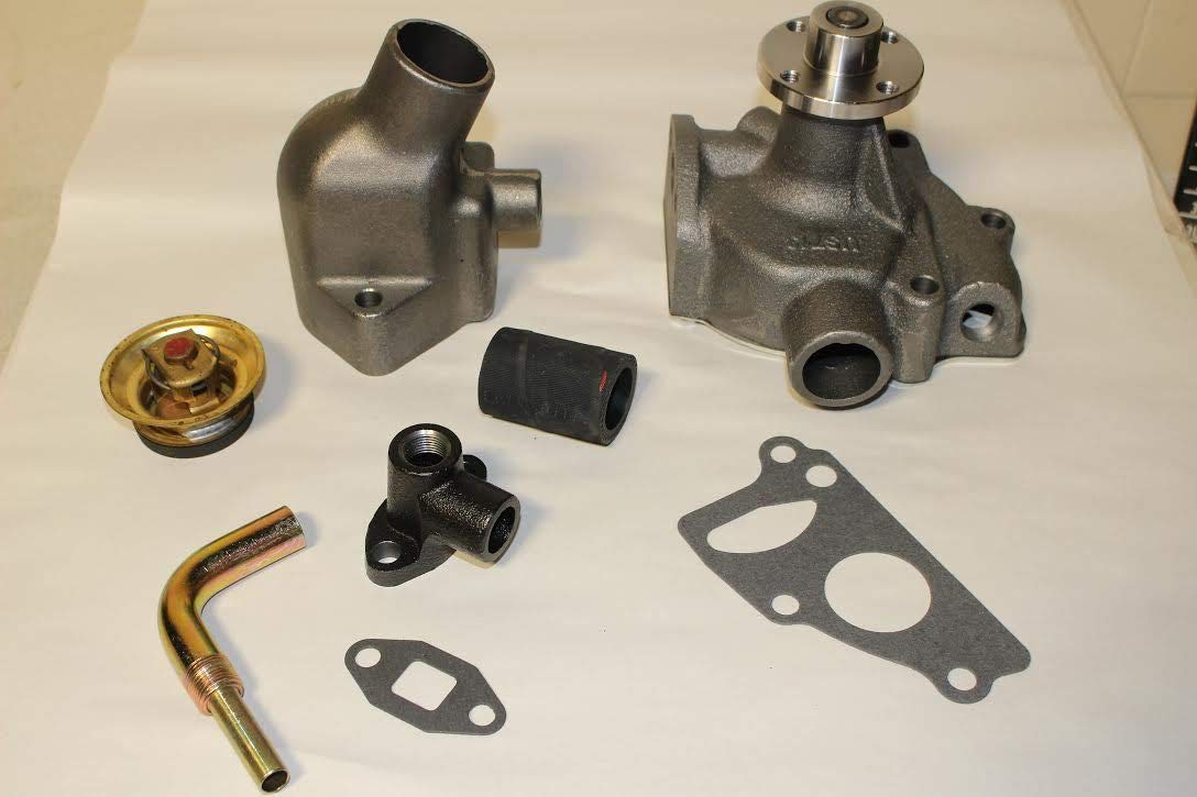 Amazon com: 1952 FLATHEAD 6 WATER PUMP PACKAGE THERMOSTAT