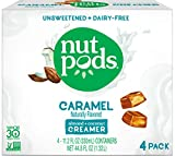 nutpods Caramel 4-pack, Unsweetened Dairy-free Coffee Creamer, Made From Almonds and Coconuts