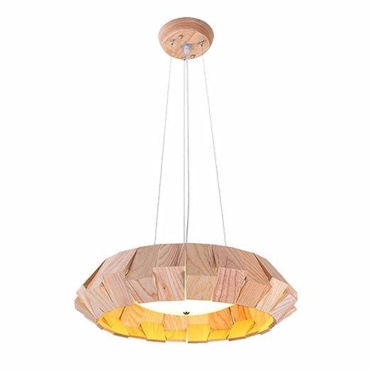 Lámpara de Techo Araña Creativa Restaurante Cafe De Madera LED ...