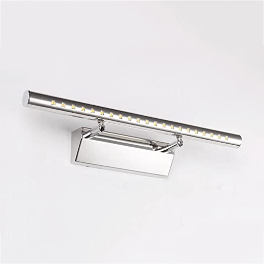 CY - Espejo LED con luz delantera Moderna y simple Espejo de baño ...