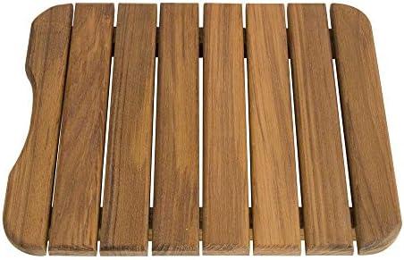 Teakworks4u Plantation Teak Mini Mat 11 W x 13 D x 1-1 4 H
